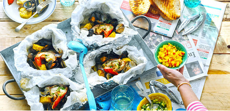 easy clambake this is an easy way to enjoy a summer clambake without ...