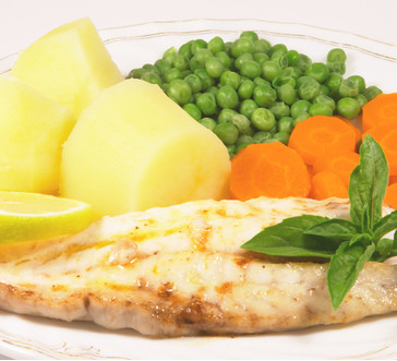 Lemon Tilapia with Dill Sauce image