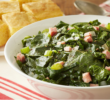 Mixed Greens with Ham image