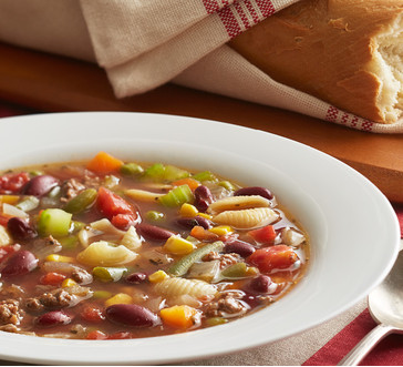 Beef Minestrone Soup image