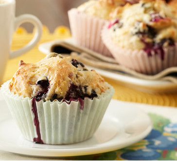 Berry Blueberry Muffins image