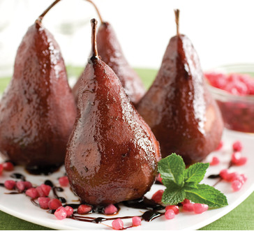 Pomegranate & Spice Pears | Stop and Shop