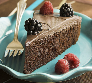 Flourless Chocolate Truffle Cake image