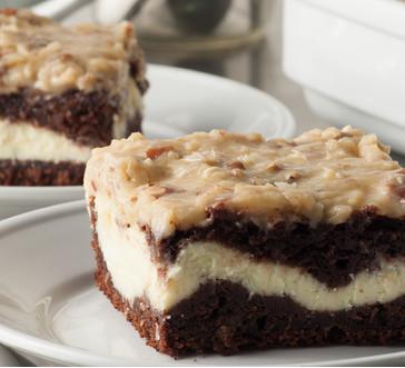German Chocolate Cheesecake Swirl image