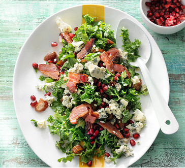 Kale Salad with Bacon, Dates and Blue Cheese | Stop and Shop
