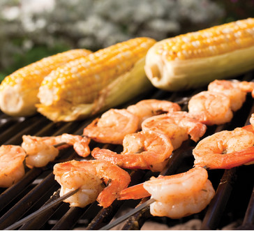 Grilled Shrimp Skewers image