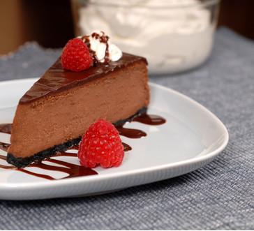 HERSHEY's Best Loved Chocolate Cheesecake image