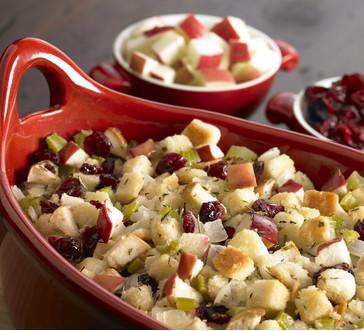 Cranberry Apple Stuffing image