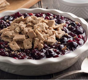 No-Bake Cranberry-Cherry Cobbler image