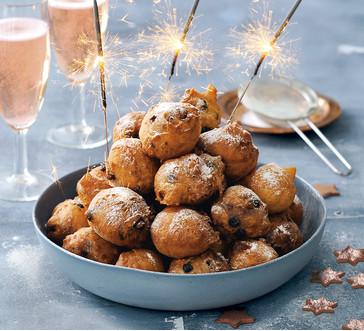 Chanukah Cranberry-Pistachio  Doughnut Holes image