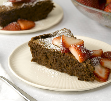 Decadent Chocolate Torte image