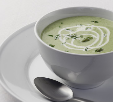 Cream of Asparagus Soup image