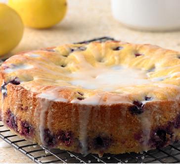 blueberry – lemon cake image