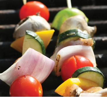Grilled Vegetable Kabobs image