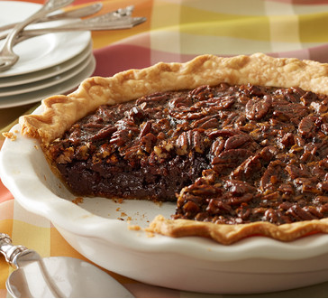 Blackstrap Molasses Bourbon Pecan Pie image