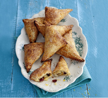 Apple Cranberry Turnovers image