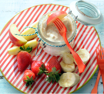 peanut butter & maple dip image