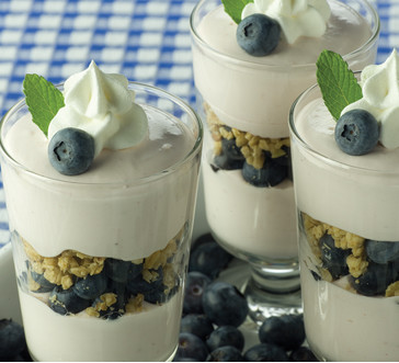Red, White & Blue Granola Parfait image