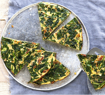 Bacon and Spinach Frittata image