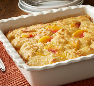 Cornmeal Peach Cobbler image