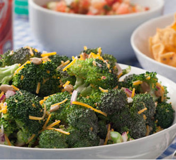 Tangy Broccoli Salad image