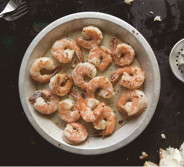 Sautéed Garlic & Lemon Shrimp image