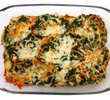 Spinach and Cheese Strata | Stop and Shop