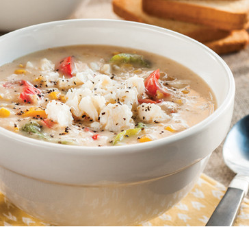 Slow-Cooked Crab Chowder image