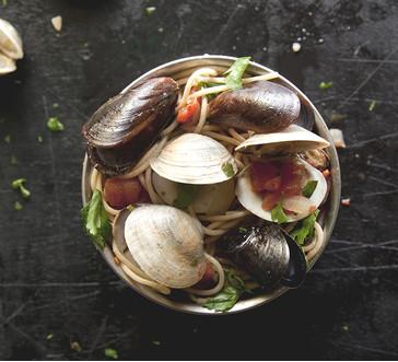 Mussels and Clams Marinara image