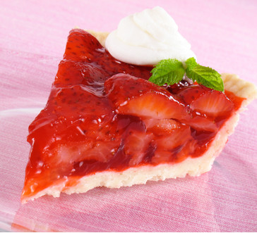 Glazed Fresh Berry Pie image
