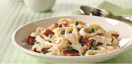Philadelphia quick pasta carbonara martin 39 s foods Tuna and philadelphia pasta