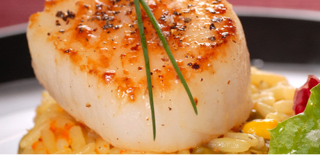 sea scallops with fresh cherries and tarragon sea scallops with fresh ...