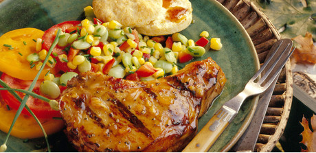chops mustard makes a fabulous seasoning for pork chops while maple ...