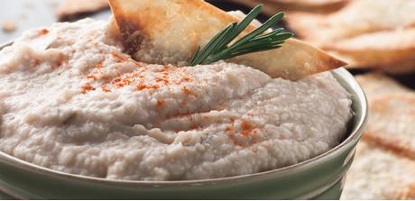 ... White Bean Dip with Parmesan Wonton Crisps recipe - Giant Food