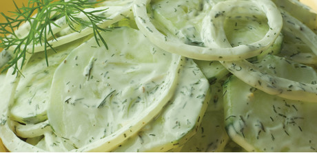 Creamy Dilled Cucumber Salad recipe - Giant Food
