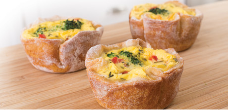 easy vegetable quiches making quiche has never been easier than with ...