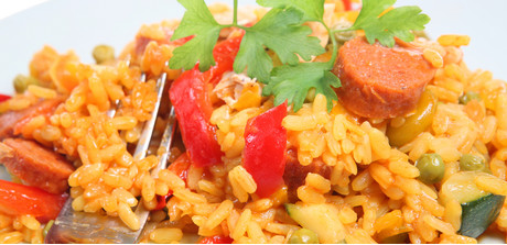 Paella with Chicken and Chorizo - Giant's Food Store