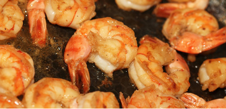 spicy baked shrimp richly spiced tender shrimp are baked in a hot oven ...