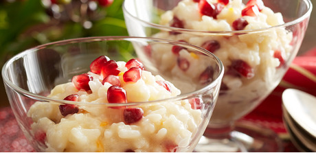 Pomegranate–Coconut Rice Pudding recipe - Martin's Foods