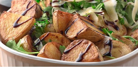 roasted potatoes with arugula 10 2 lb baby butter potatoes yukon gold ...