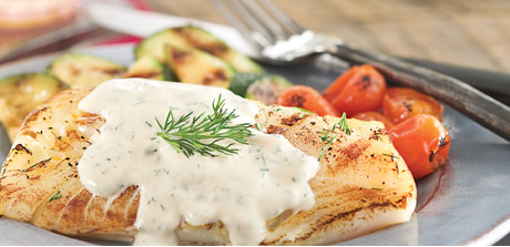 Cod with Mustard-Dill Sauce - Stop&Shop