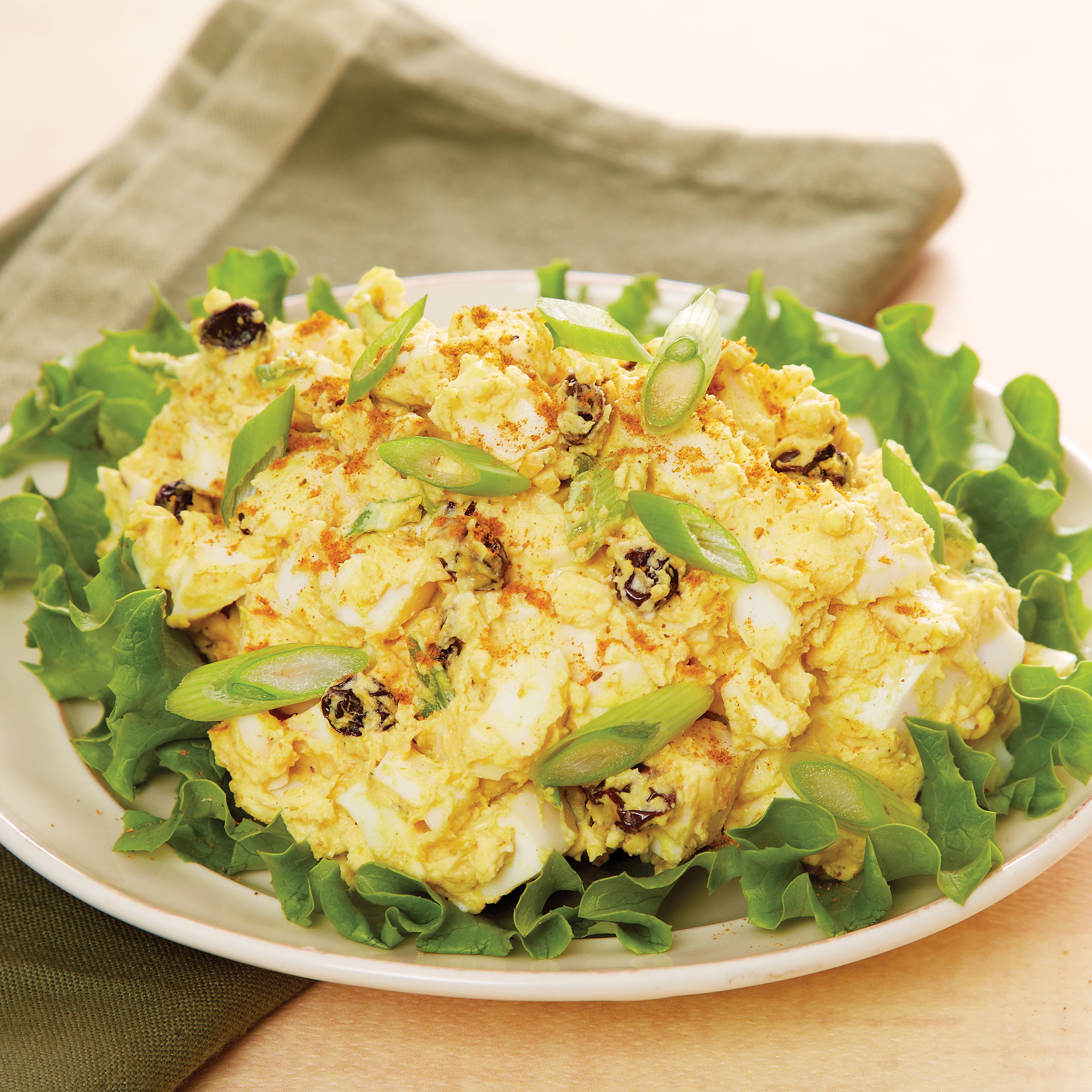 Curried Egg Salad with Currants | Recipes & Meals - Stop&Shop