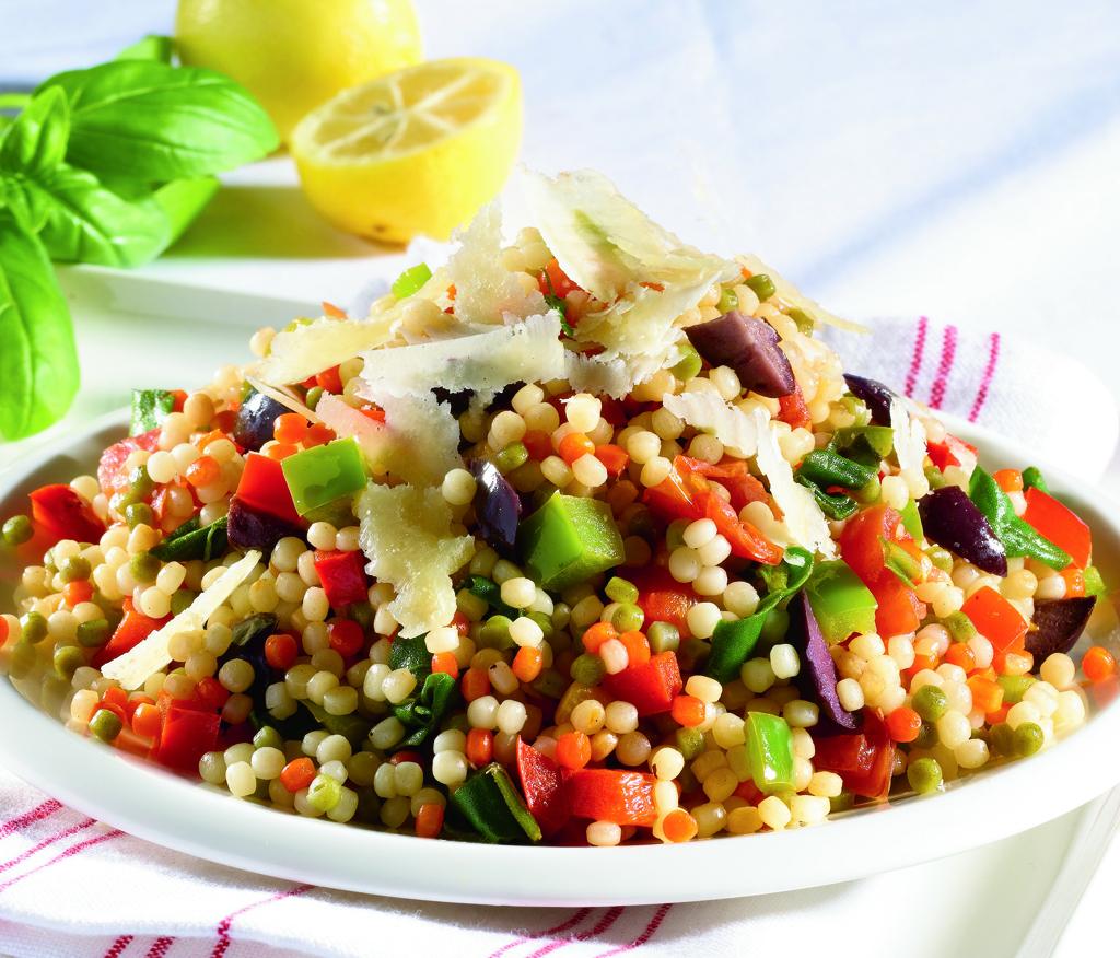 Mediterranean Style Couscous
