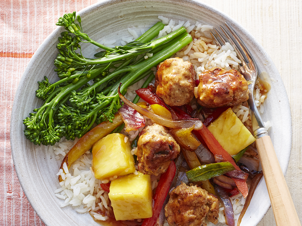 sweet and sour meatballs with peppers and pineapple | Recipes & Meals ...