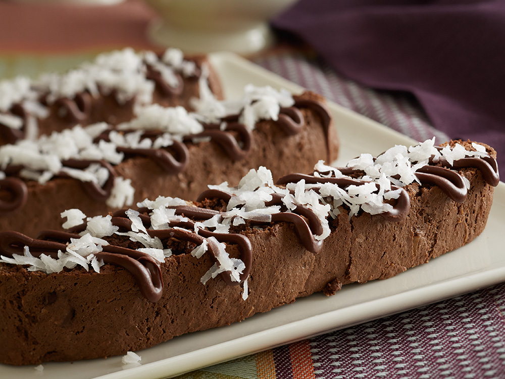 Double Chocolate Coconut Almond Biscotti | Recipes & Meals - Stop&Shop