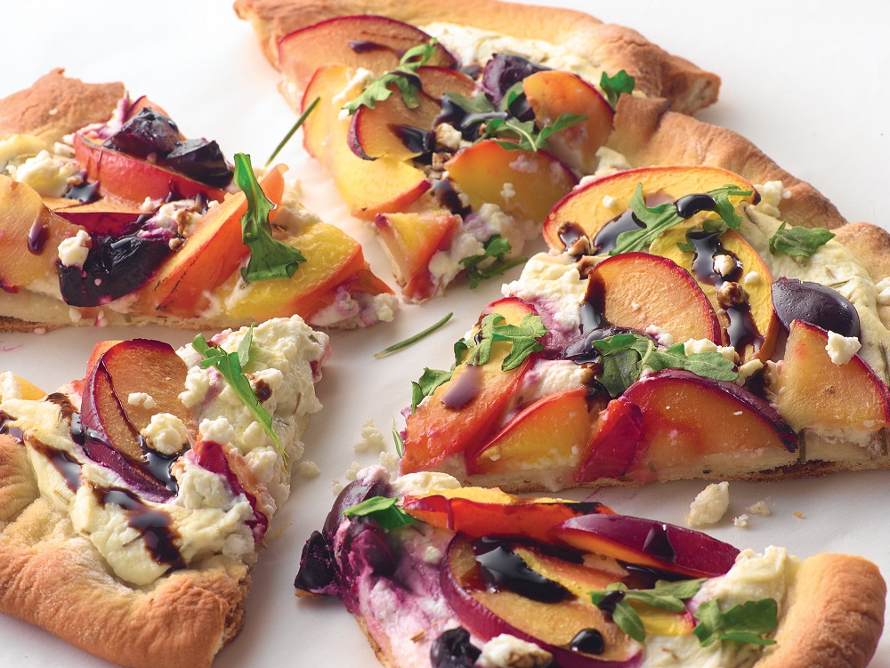 Grilled Stone Fruit Pizza | Recipes & Meals - Stop&Shop