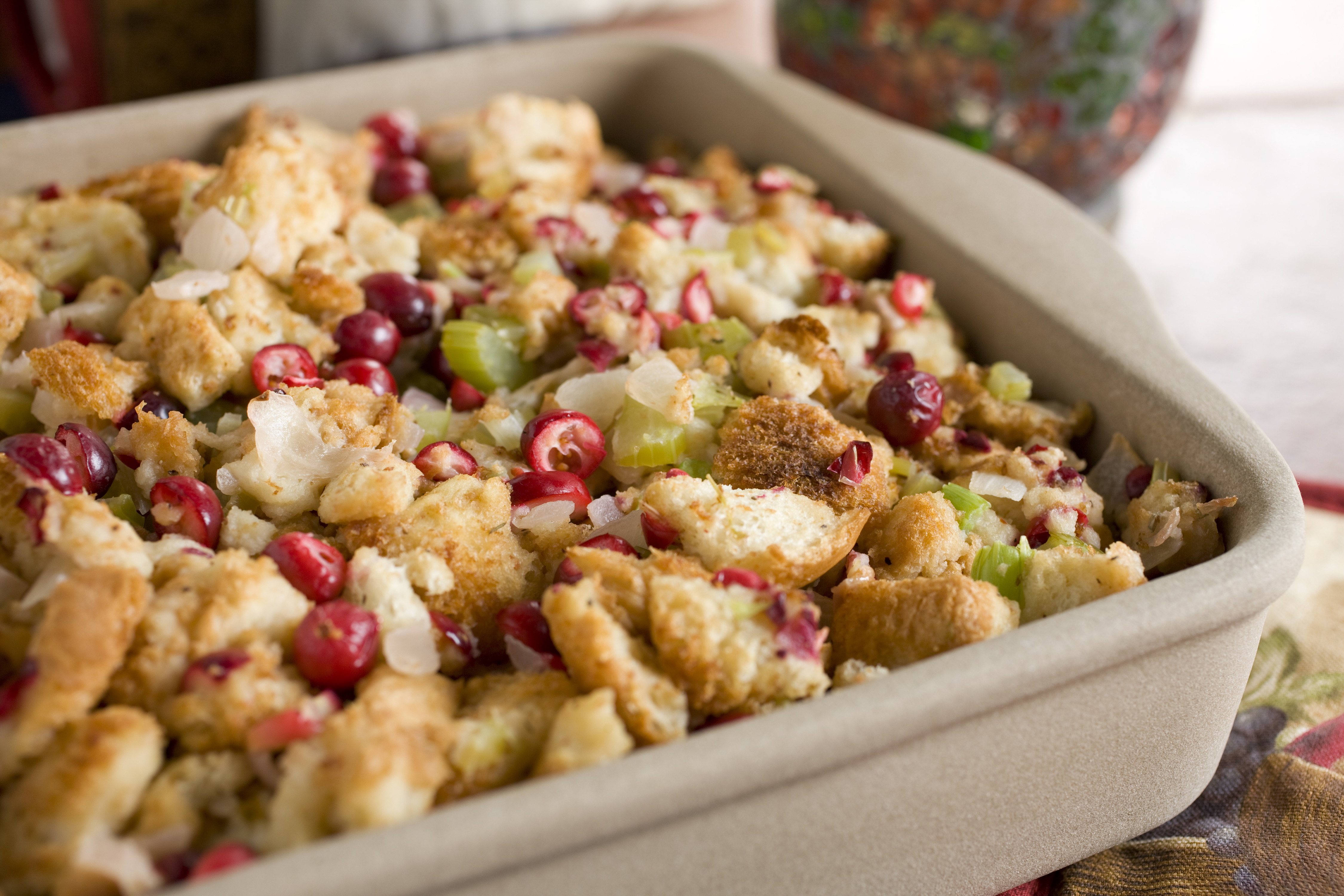 Herbed Bread Stuffing with Cranberries | Recipes & Meals - Stop&Shop