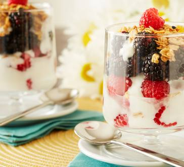 Fresh Fruit Yogurt Parfait image
