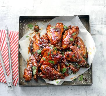 Slow Cooker Teriyaki Chicken Wings image