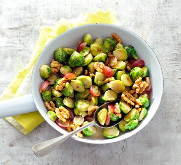 Brussels Sprouts with Grapes image